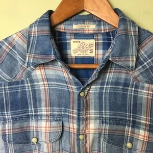 Lucky Brand Western Pearl Snap Shirt